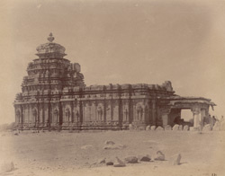 General view from the south-east of the Kalleshvara Temple, Kukkunur